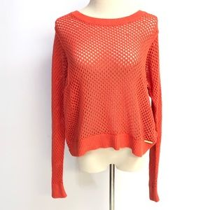 Michael Kors Knit Coral Sweater